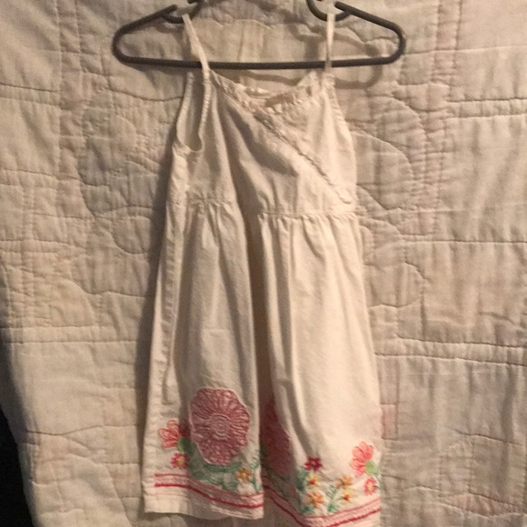 Old Navy 2T white Floral dress